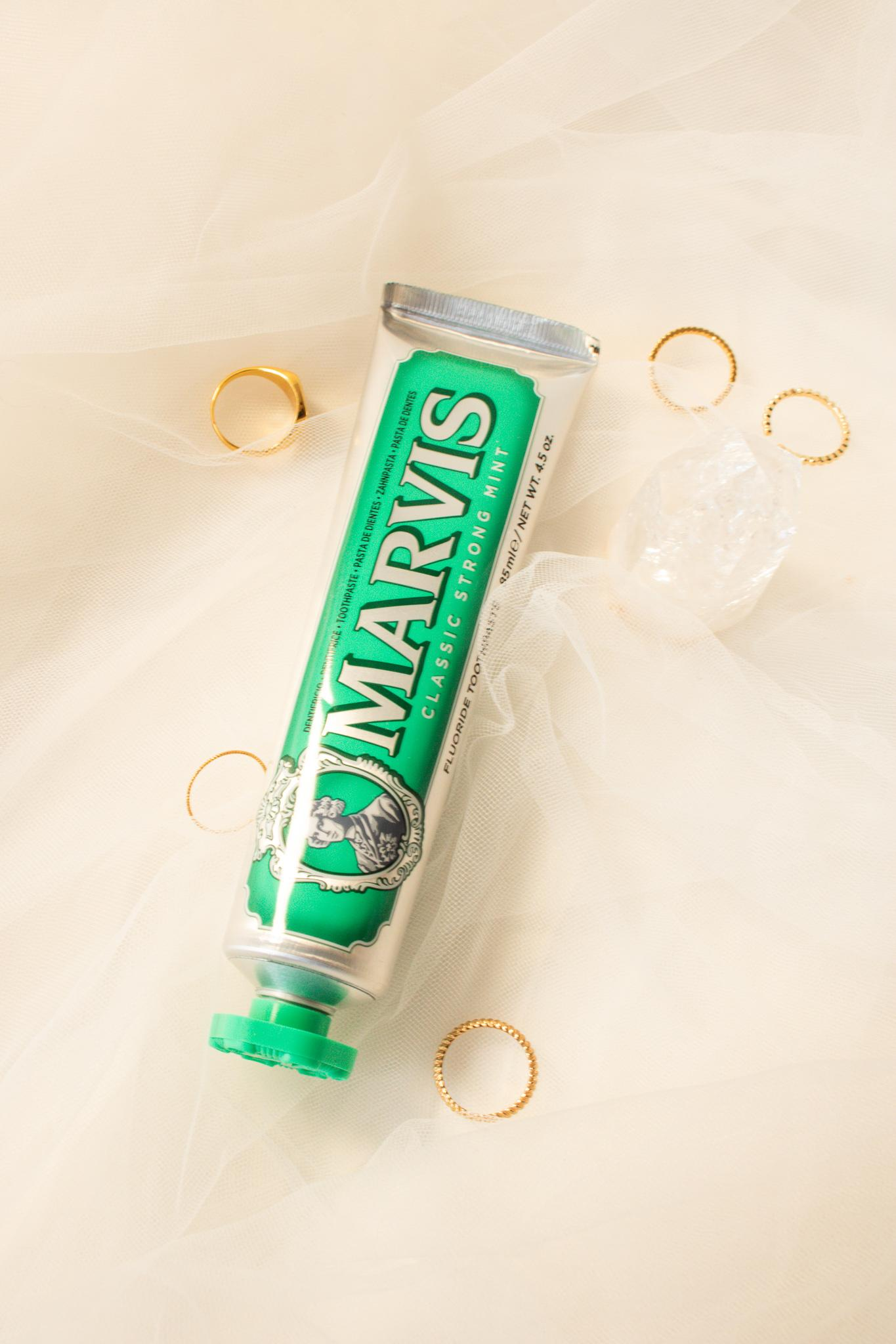 marvis tandpasta classic strong mint