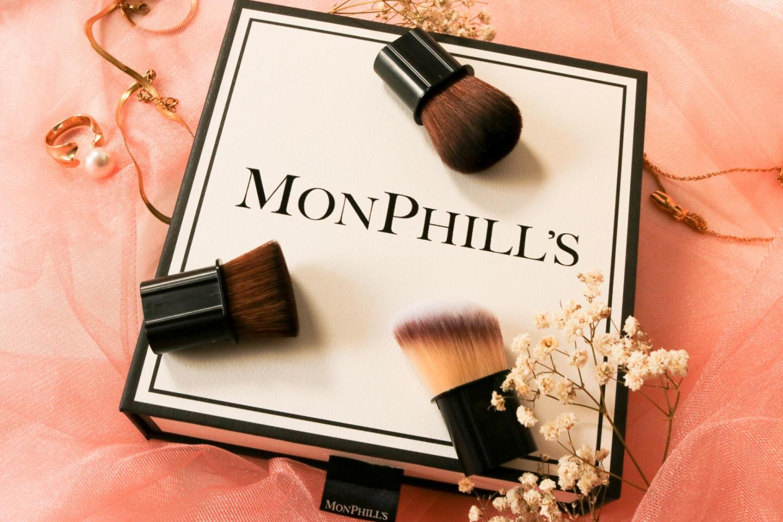 MonPhill's kwasten makeup gezicht