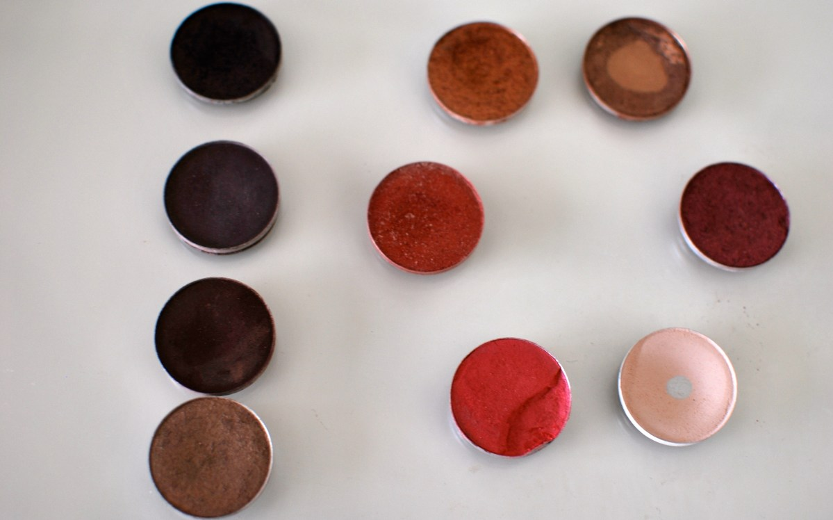 My top 10 Mac eyeshadows