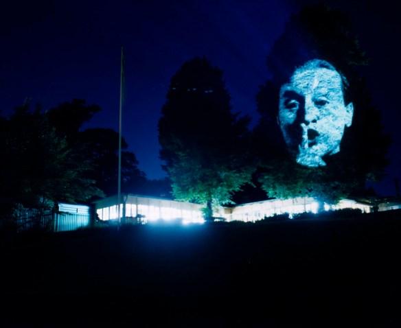 Magasin 3 Projekt Djurgårdsbrunn Artist: Tony Oursler Title: Influence Machine Year: 2002 Photo: Mattias Givell