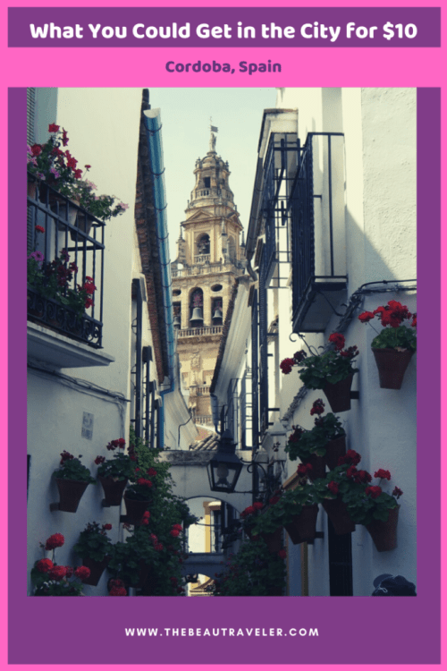 What You Could Get in Cordoba for $10 - The BeauTraveler