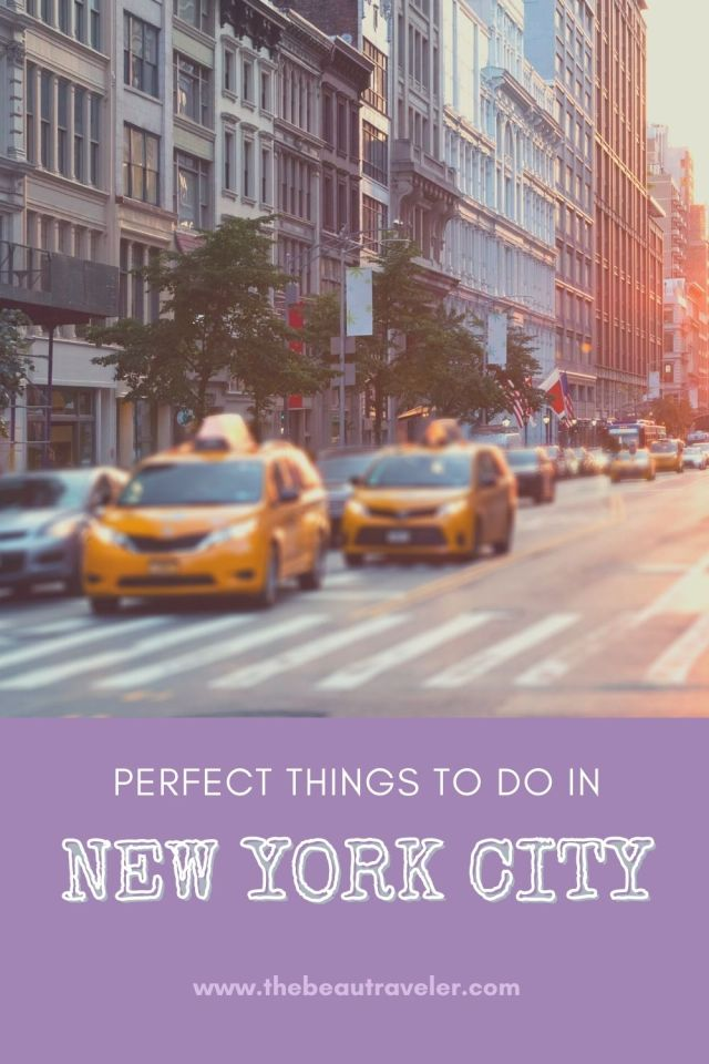 A Guide to Taking You Through the Best Luggage Storage and Perfect Things to do in NYC - The BeauTraveler