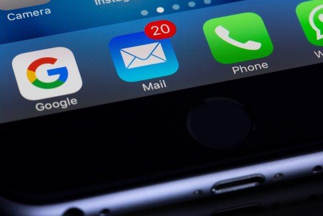 e-mail inbox.