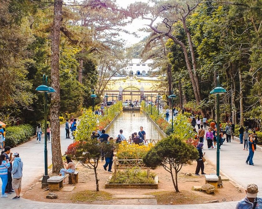 Wright Park, Baguio City in the Philippines.