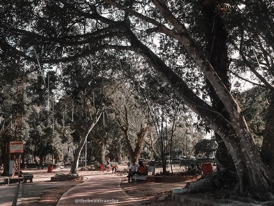 Hat Yai Municipal Park, Songkhla Province.