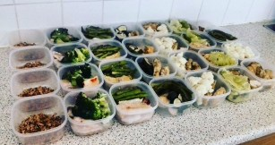 meal prep week 2 cutting cycle