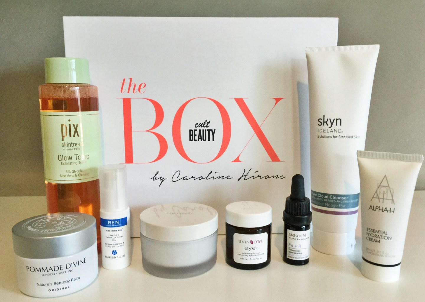 Caroline Hirons Cult Beauty Box