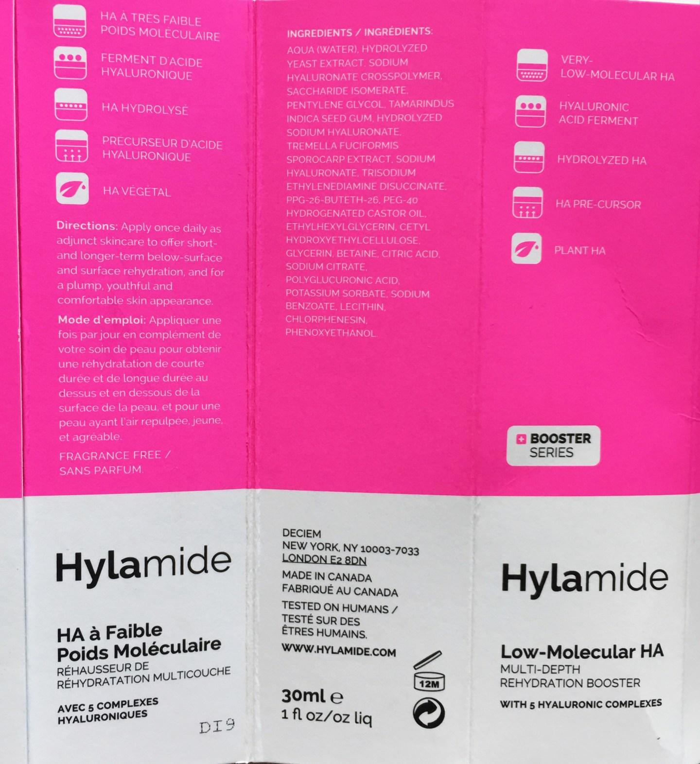 Hylamide Low-Molecular HA