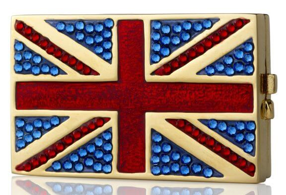 Estee Lauder, Jewelled Flag of Britain, Beautiful, perfume, fragrance, limited edition, queen, london, diamond jubilee