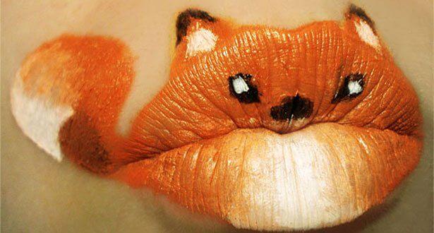 lip art, body art, body makeup, paige thompson