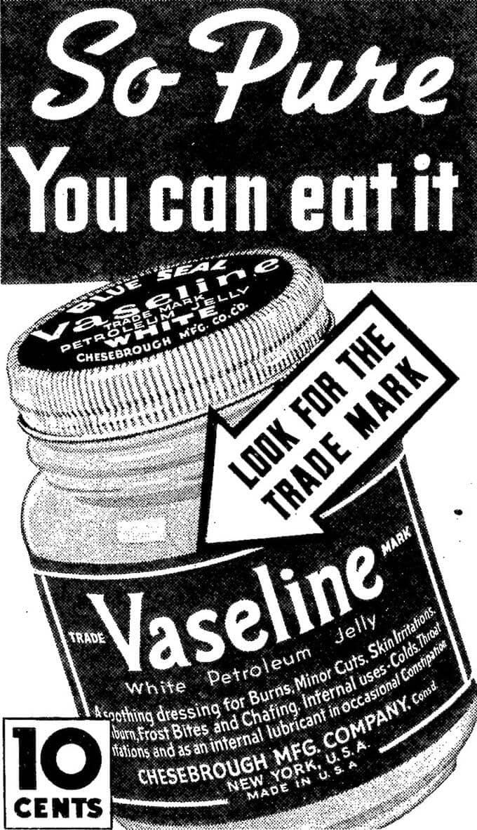 vaseline-history
