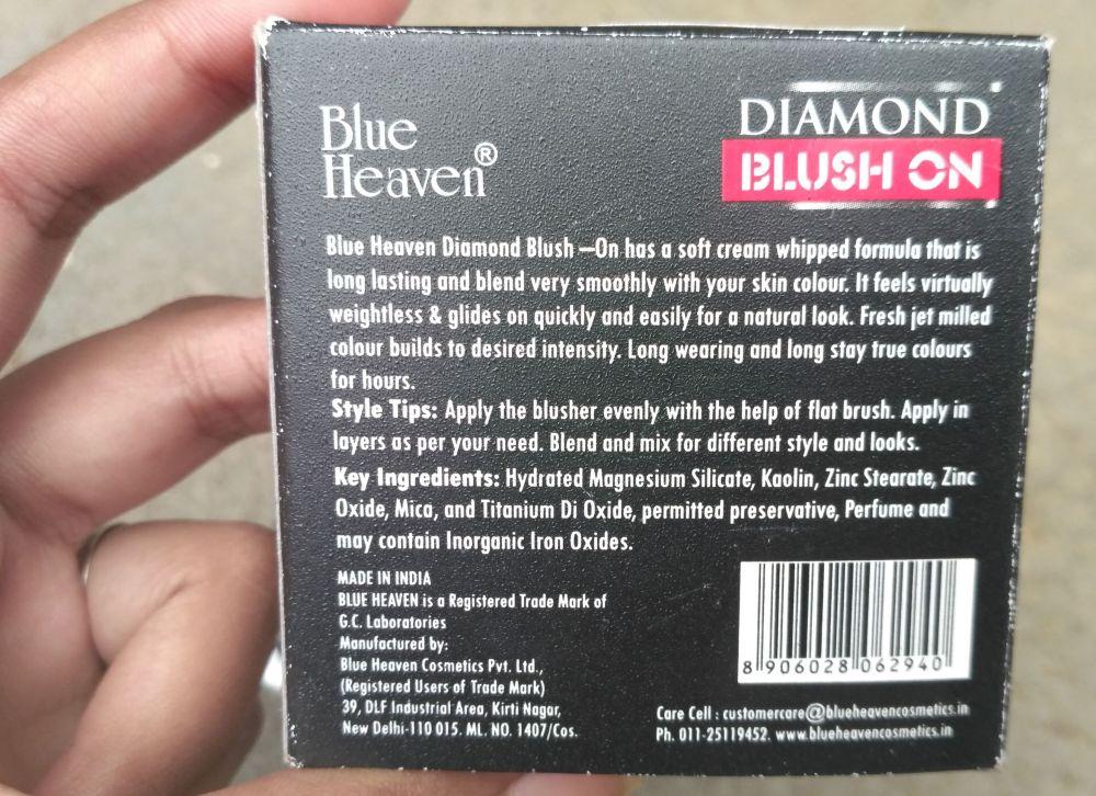 Blue Heaven Diamond Blush On 502 Online Price