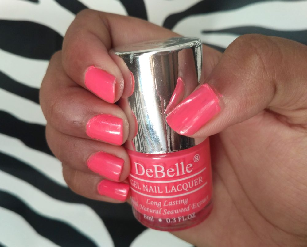 DeBelle Gel Nail Lacquer Natural Blush & Bebe Kiss | Review