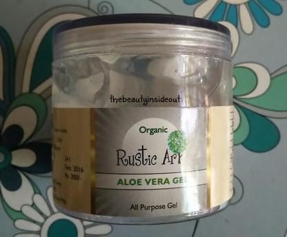 Rustic Art Aloe Vera Gel