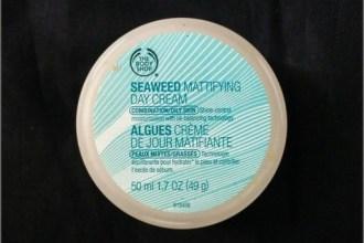 Body Shop Seaweed Mattifying Day Cream
