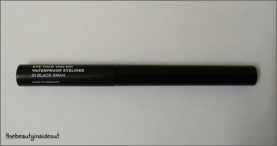 Sugar EyeTold You So Eyeliner Black Swan Review