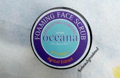 Nyassa Oceana Foaming Face Scrub