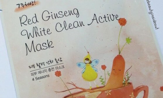 Korean Face Mask Sheet