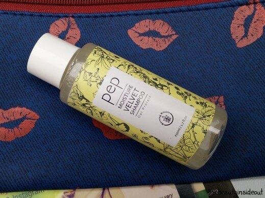 July 2016 Fab Bag - PEP Velvet Moisture Shampoo