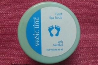 Vedic Line Foot Spa Scrub