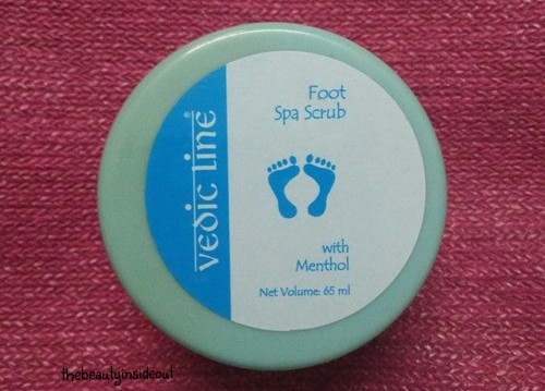 Vedic Line Foot Spa Scrub