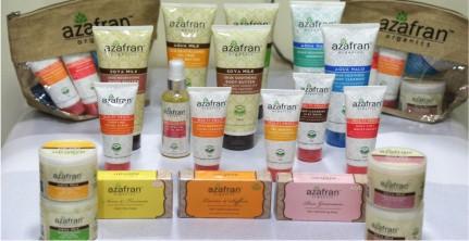 Organic Skincare Brands - Azafran