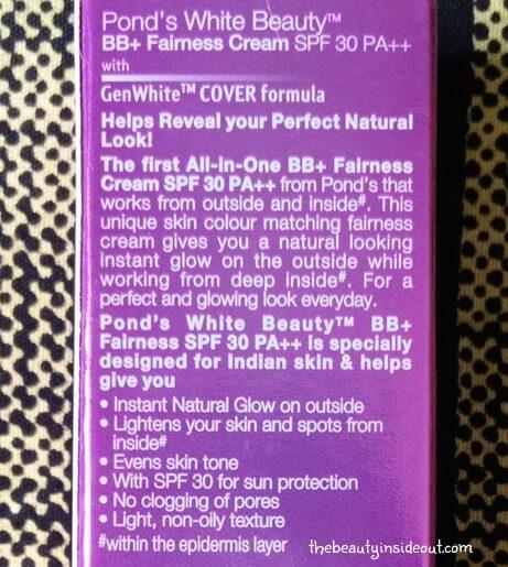 ponds-bb-cream-description