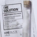 The Face Shop The Solution Face Mask - Brightening