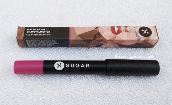 Sugar Matte As Hell Crayon Lipstick - Mary Poppins
