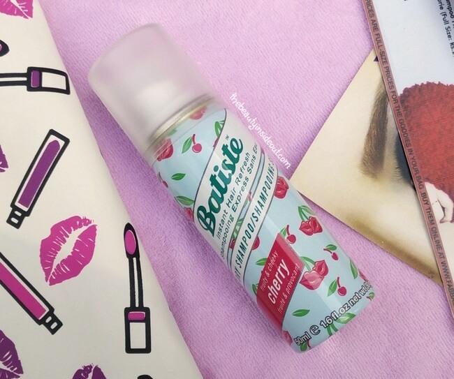February 2017 Fab Bag - Batiste Dry Shampoo