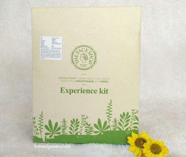 The Face Shop Experience Kit
