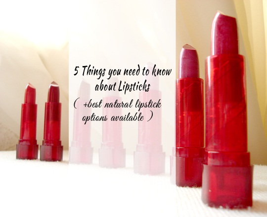 Best Natural/Organic Lipsticks available in India