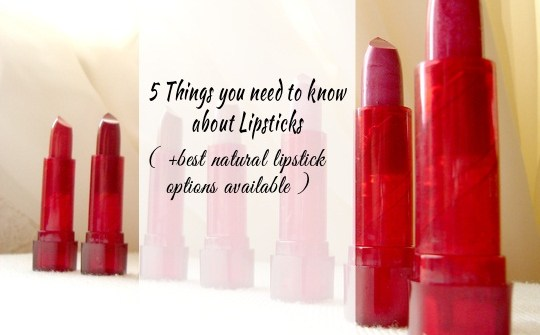 Natural Lipstick Options for Safer Lips