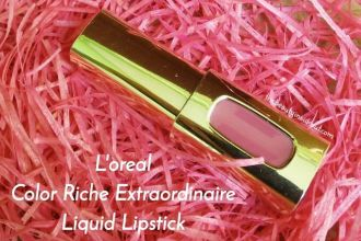 L'oreal Color Riche Extraordinaire Liquid Lipstick Review