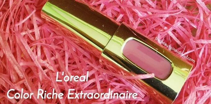 L'oreal Color Riche Extraordinaire Liquid Lipstick Review