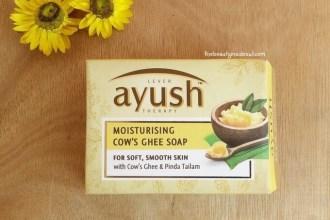 Lever Lever Ayush Moisturizing Cow's Ghee SoapMoisturizing Cow Ghee's Soap