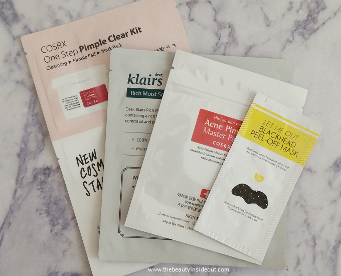 Buy Korean Beauty Products in India - Daisy Skin Fix Haul