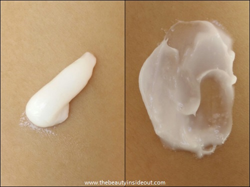 Aveeno Baby Daily Moisture Lotion Swatch