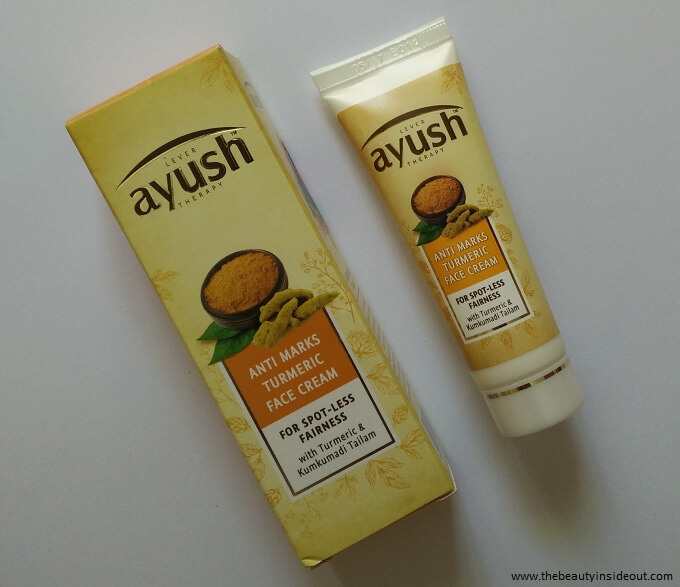 Lever Ayush Anti Marks Turmeric Face Cream