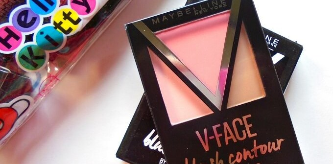 Maybelline FaceStudio V-Face Blush Contour Review