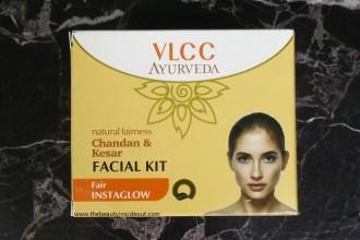 VLCC Ayurveda Facial Kit Review