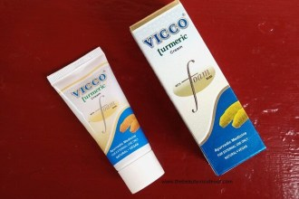 Vicco Turmeric Cream with Foam Base Review