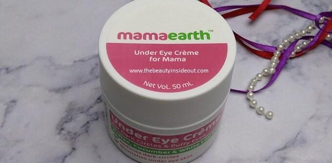 Mamaearth Under Eye Cream