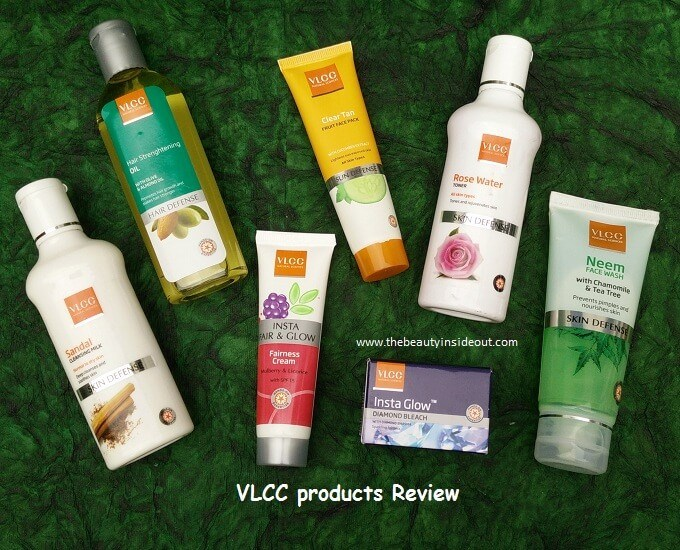 VLCC Products Review