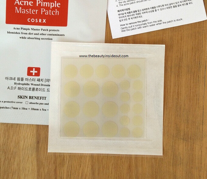 Cosrx Acne Pimple Master Patch sheet of 24