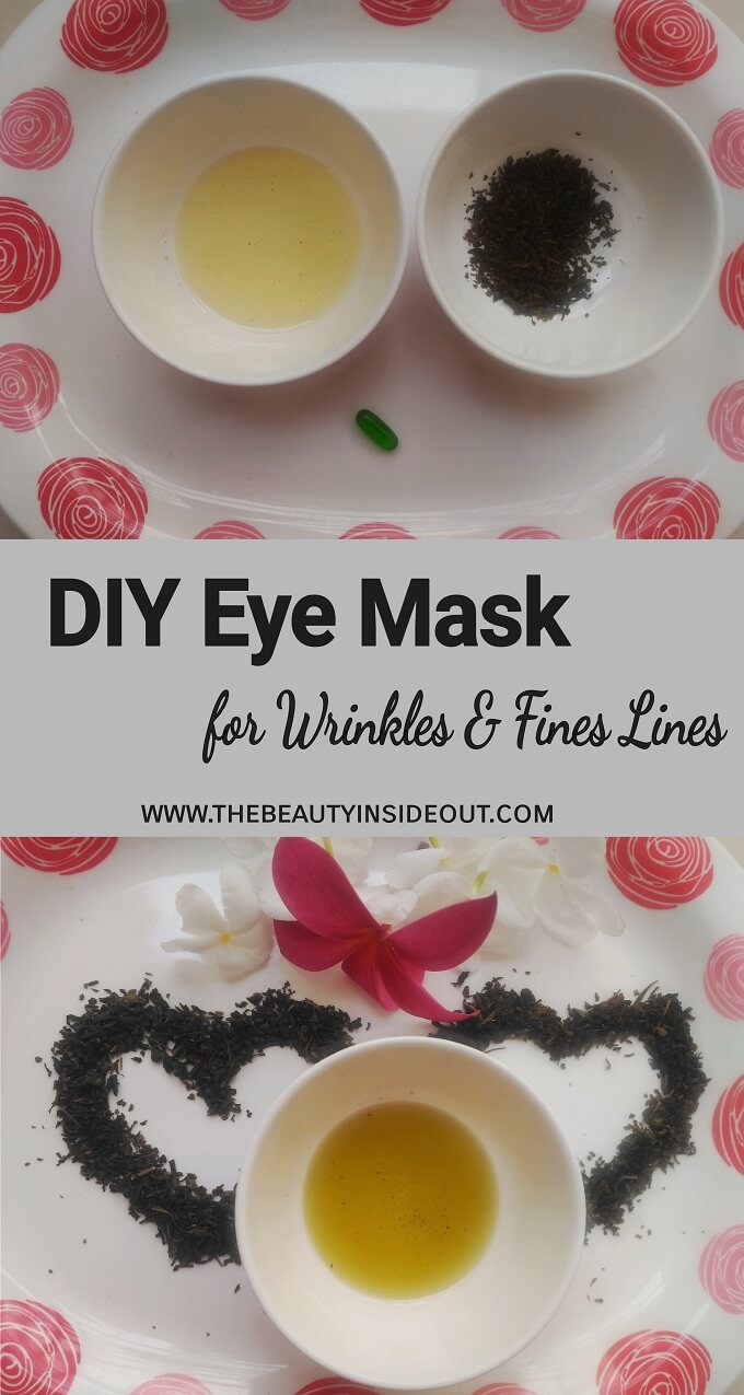 DIY Eye Mask for Wrinkles and Fine Lines