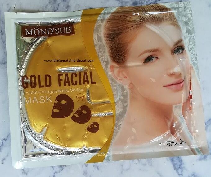 Mond'Sub Gold Facial Mask