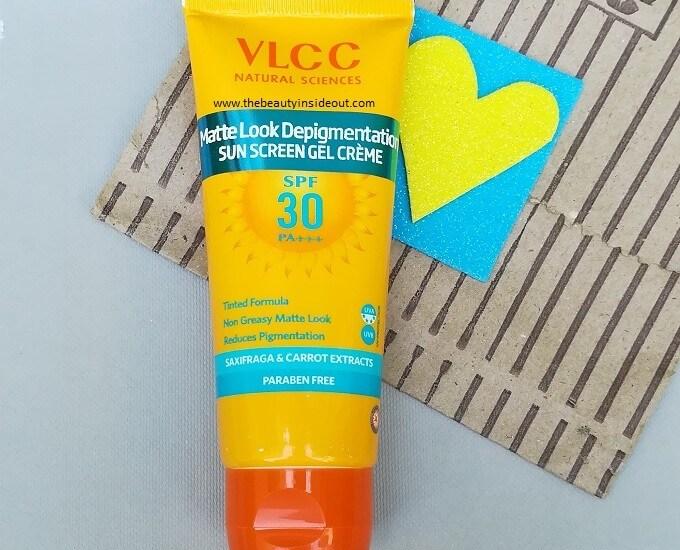 VLCC Matte Look Depigmentation Sun Gel Creme SPF 30