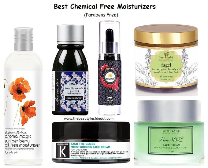 10 Best Chemical Free Moisturizer In India 2020 Cruelty Paraben Free