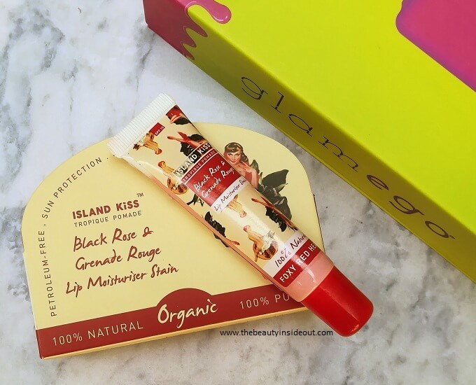Island Kiss Black Rose & Grenade Rouge Lip Moisturizer Stain
